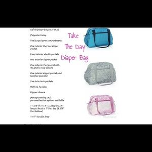 Thirty-one take the day diaper bag